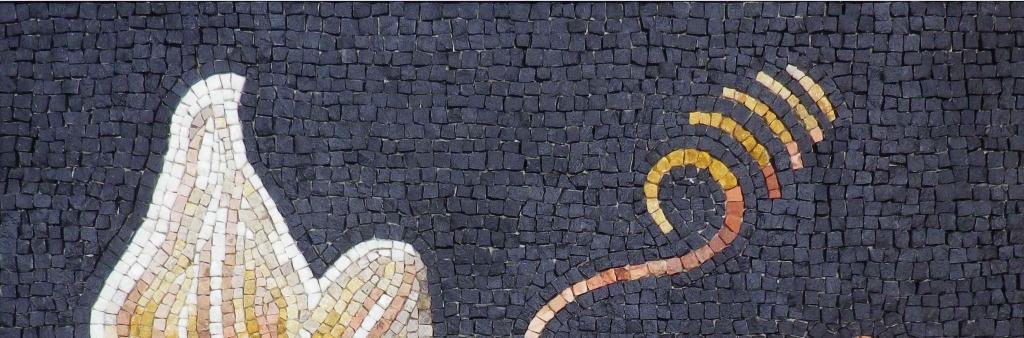 Feuilles Aquileia opus vermiculatum